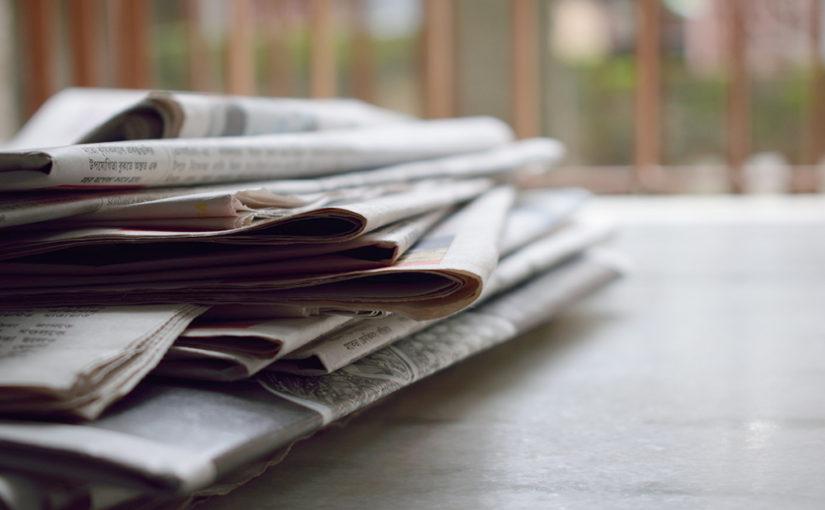 河北新報社など地方紙にコメントが掲載されました